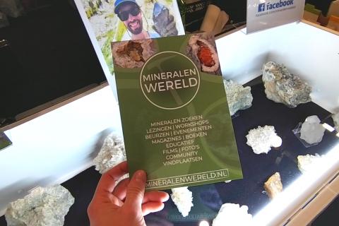 Kristallen edelstenen mineralen beurs Rijswijk