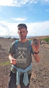 Mineralen zoeken in Fuertaventura